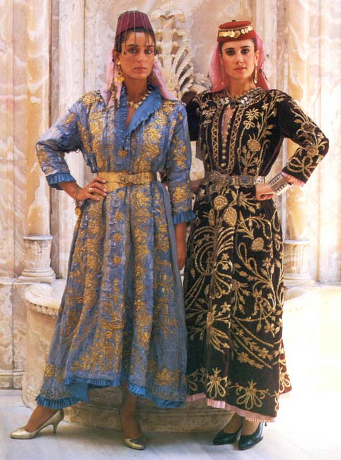 Traditional Turkish Wedding Dress