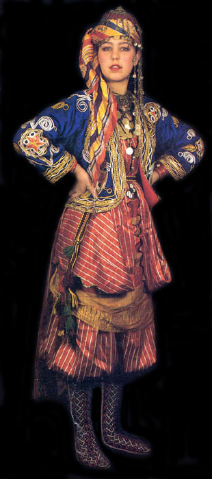 Awesome Historical Turkish Male And Female Costumes. | Costume History
